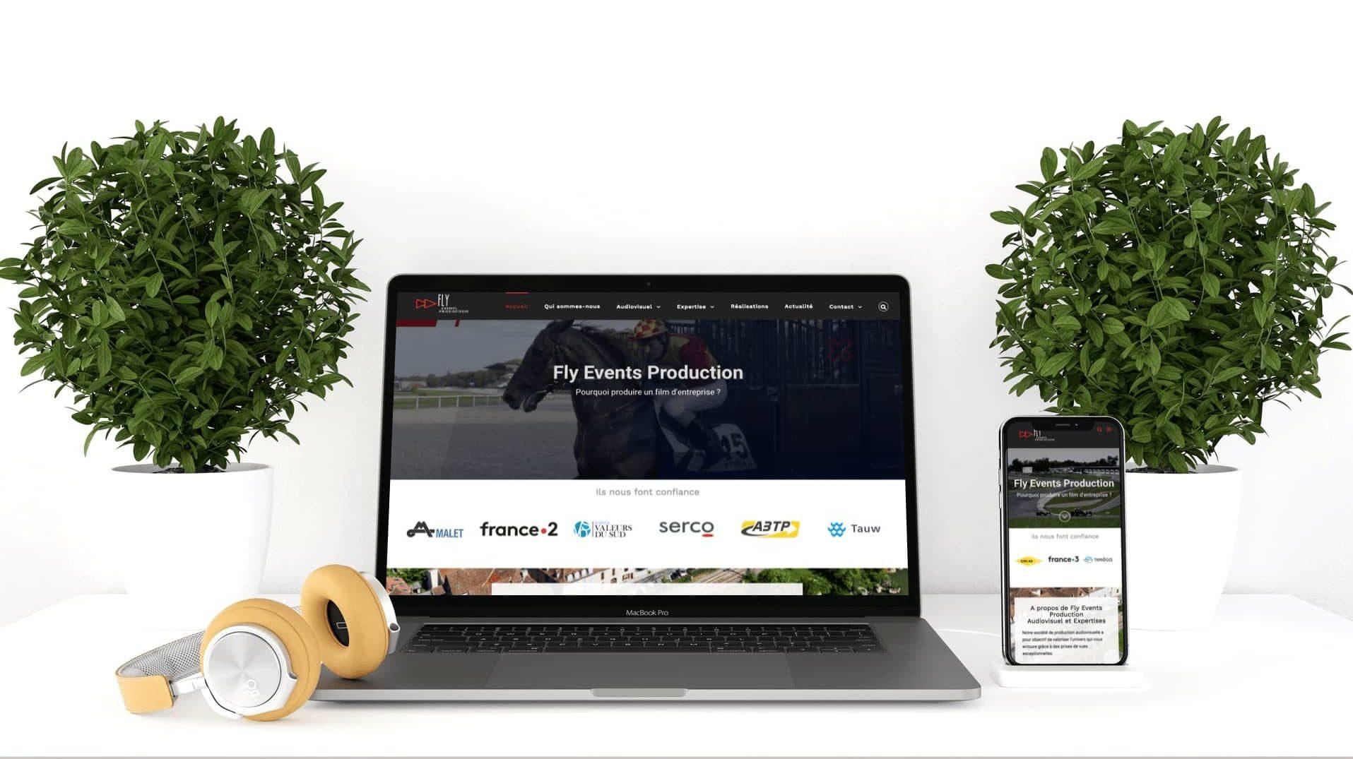 Mockup Nouveau site web