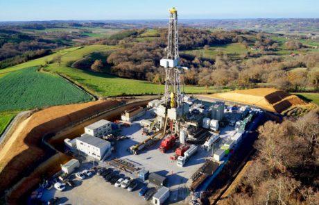 Photo aérienne drone Exploitation pétrolière